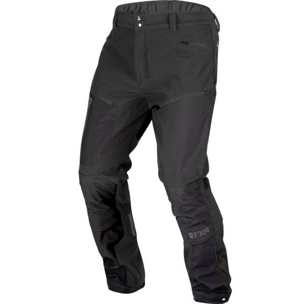 Pantaloni Snow FXR Pantaloni Snow M Altitude Softshell 20-Black Ops