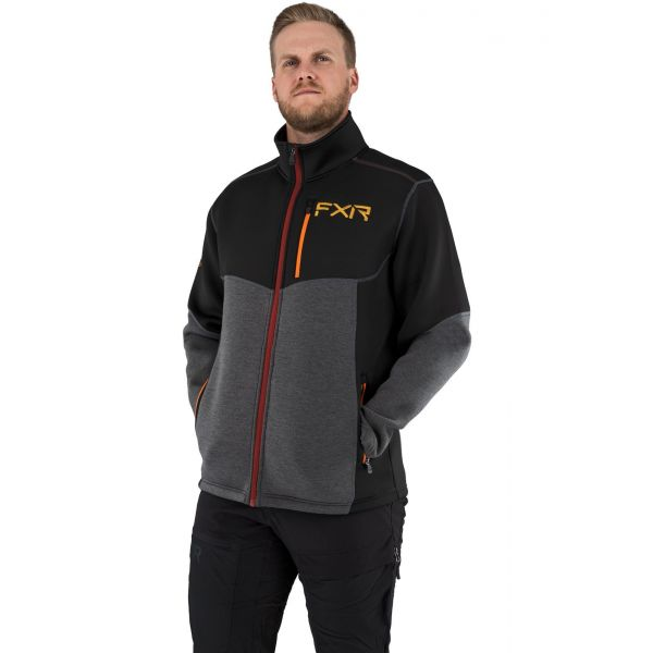 Underlayer Snow FXR Geaca Mid Layer M Altitude Tech Zip-Up 21-25th Edition