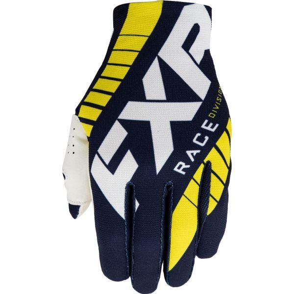Manusi MX-Enduro FXR Manusi Moto MX Slip-On Lite MX Navy/Yellow/White 2021