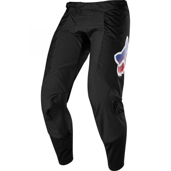Pantaloni MX-Enduro Fox Pantaloni Moto MX Airline Pilr Negru 2020