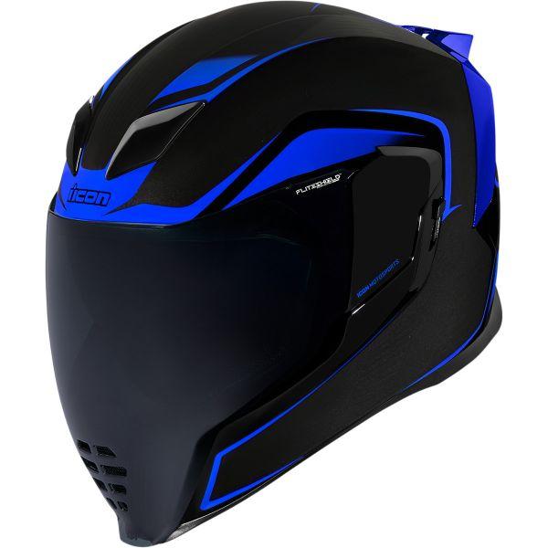 Casti Moto Integrale Icon Casca Moto Full-Face Airflite Crosslink Blue 2021