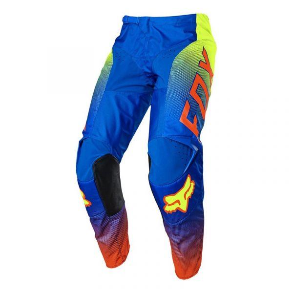Pantaloni MX-Enduro Fox Pantaloni Moto MX 180 Oktiv Blue 2021