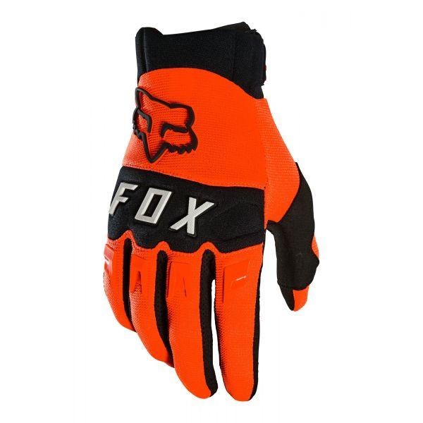 Manusi MX-Enduro Fox Manusi Moto Dirtpaw Orange MX21