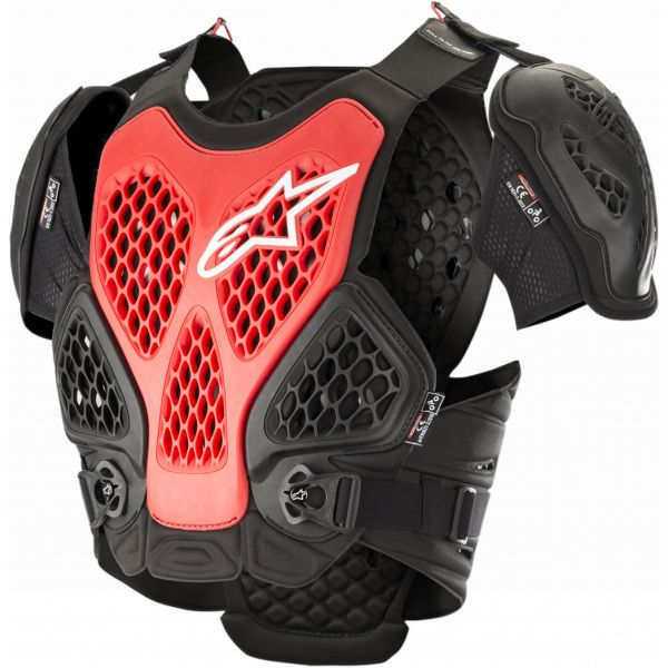 Protectii Piept-Spate Alpinestars Vesta Moto Protectie Bionic Black/Red 2021