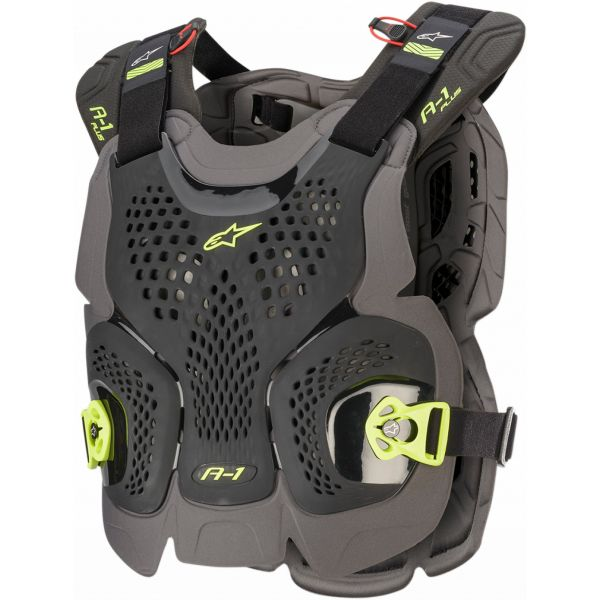 Protectii Piept-Spate Alpinestars Vesta Moto Protectie A-1 Plus Black/Yellow 2021