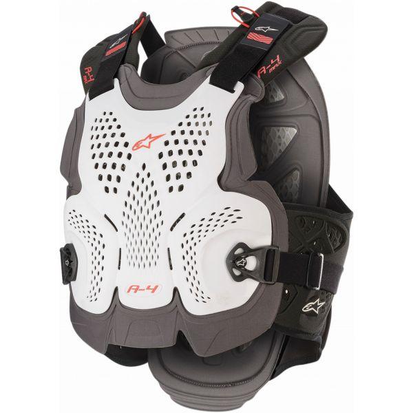 Protectii Piept-Spate Alpinestars Vesta Moto Protectie A-4 Max White/Red 2021