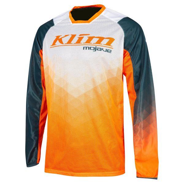 Tricouri MX-Enduro Klim Tricou MX Mojave Orange Krush 2021