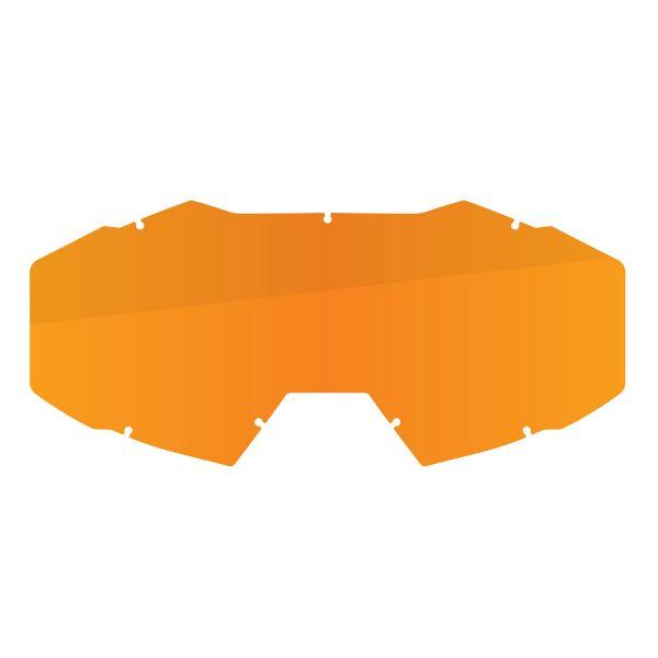 Accesorii Ochelari Klim Lentila Schimb Ochelari Moto Viper Off Road  Orange Tint 2021