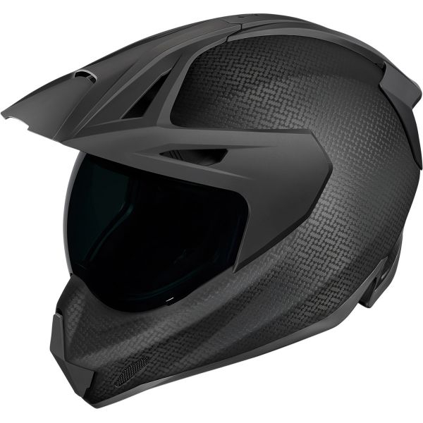 Casti Moto Adventure-Touring Icon Casca Moto Full-Face Variant Pro Ghostcarb Black 2021
