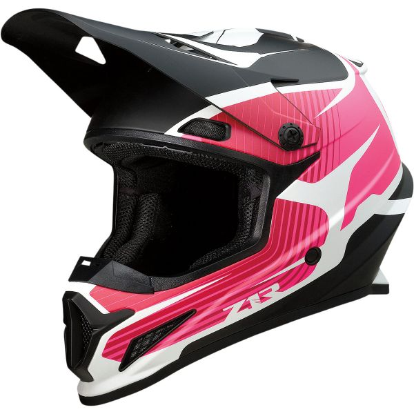 Casti MX-Enduro Z1R Casca Moto MX Rise Flame Pink/Black 2022