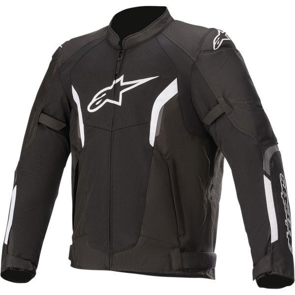 Geci Moto Textil Alpinestars Geaca Moto Textila Ast Air V2 Black/White 2021