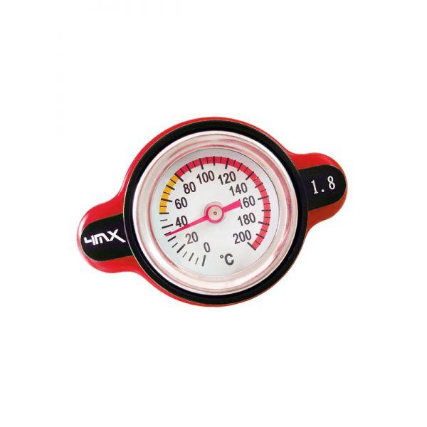 Furtunuri / Capace Radiator 4MX Buson Radiator Cu Indicator Presiune 1.8 Red