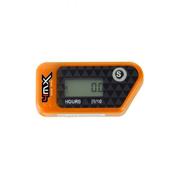 Accesorii MX-Enduro 4MX Ceas Ore Functionare Wireless Orange