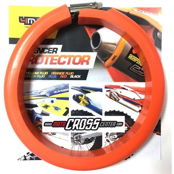 4MX Colier Protectie Toba 2T Orange