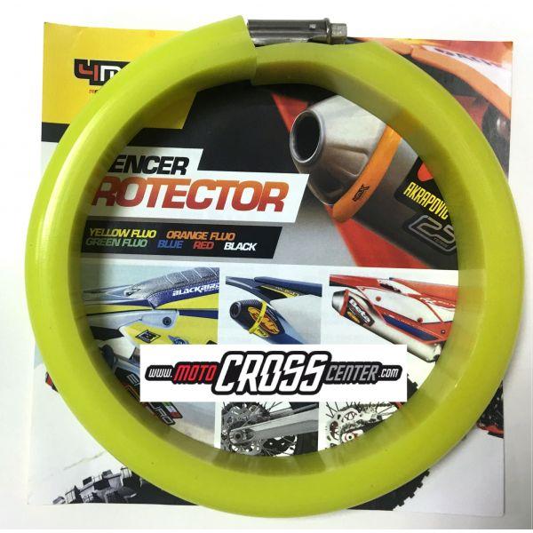 4MX Colier Protectie Toba 2T Yellow Fluo