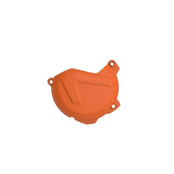 Scuturi moto 4MX Protectie Plastic Capac Ambreiaj KTM EXC/XCW 300 2013-2016 Orange
