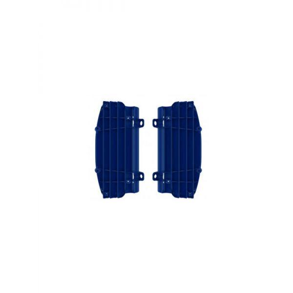 Protectii Radiator 4MX Protectii Plastic Radiator Husqvarna 17-20 Albastru