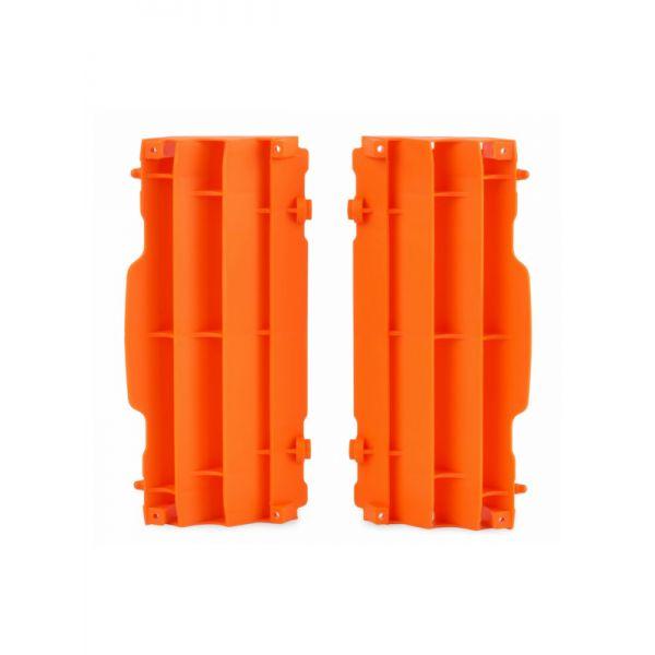 Protectii Radiator 4MX LICHIDARE STOC Protectii Plastic Radiator KTM 17-19 Orange