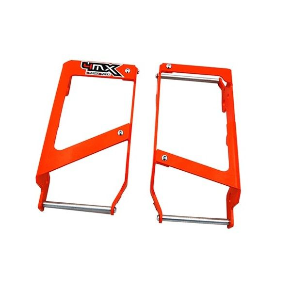 Protectii Radiator 4MX Protectii Radiator KTM 2007-2015 Aluminiu 4MX orange