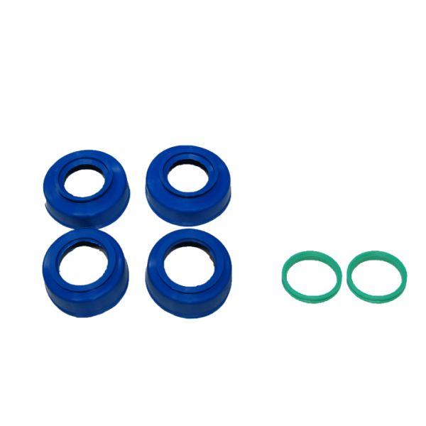 Jante si Roti 4MX Protectii Rulmenti Roata KTM/HUSQ Fata+Spate Blue 2015-2017