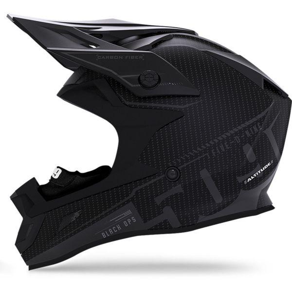 Casti Snowmobil 509 Casca Altitude Carbon Composite Helmet ECE Black Ops 2020