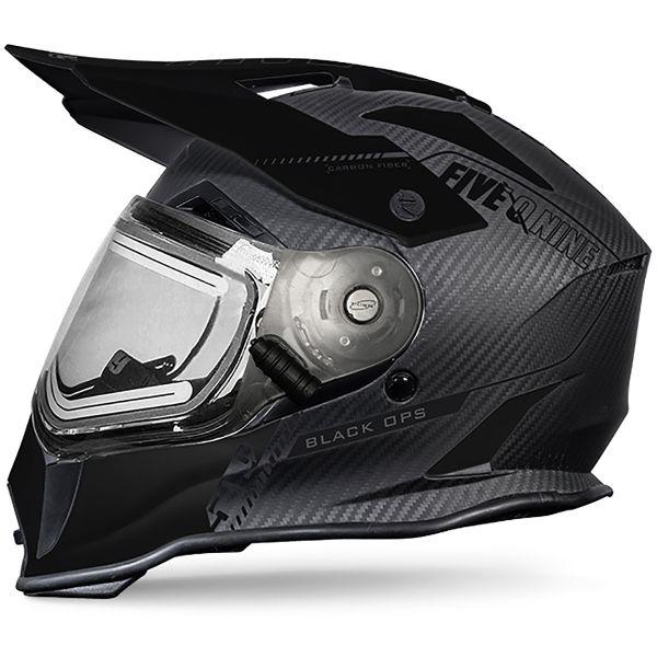 Casti Snowmobil 509 Casca Delta R3 Carbon Fiber Ignite Helmet Black Ops 2020