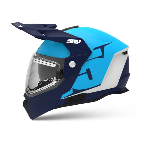 Casti Snowmobil 509 Casca Snow Delta R4 Ignite Cyan Navy 2021