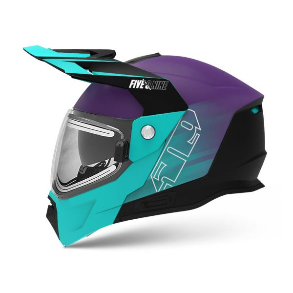 Casti Snowmobil 509 Casca Snow Delta R4 Ignite Galaxy Teal Purple 2021