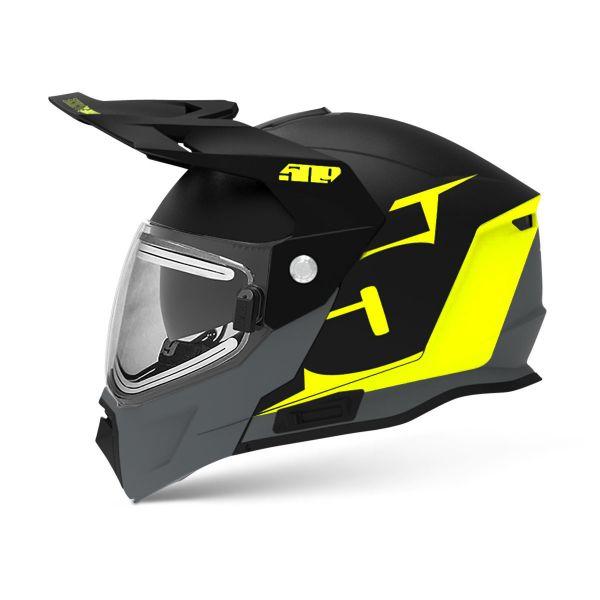 Casti Snowmobil 509 Casca Snow Delta R4 Ignite Lime Green Gray 2021