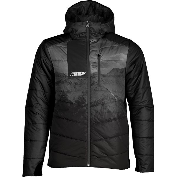 Geci/Hanorace Casual 509 Geaca Mid Layer Syn Loft Insulated Hooded Black Hills 2021