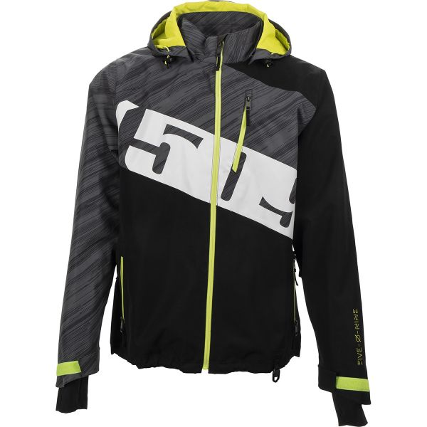 Geci Snowmobil 509 Geaca Snow Evolve Shell Black Hi-Vis