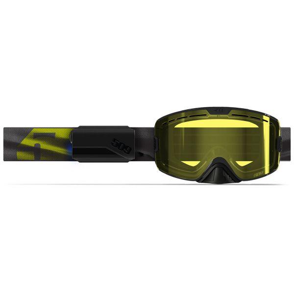 Ochelari Snowmobil 509 Ochelari Snow Kingpin Ignite Black Hi-Vis 2021
