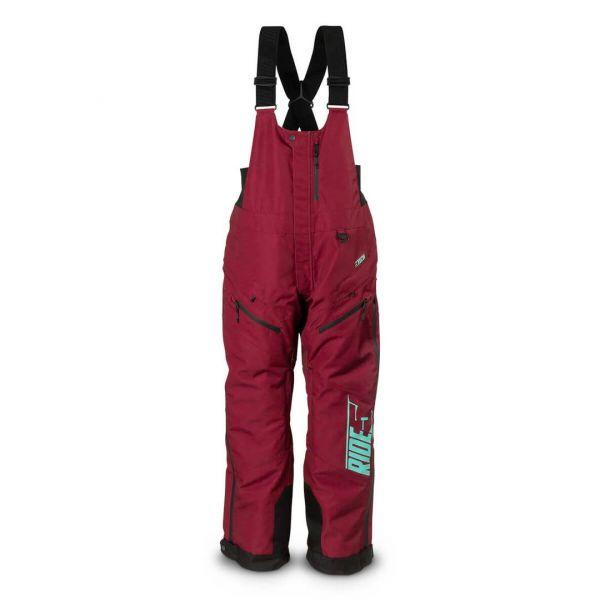 Pantaloni Snow - Dama 509 Pantaloni Snow Bib Insulated Dama Range Maroon 2022