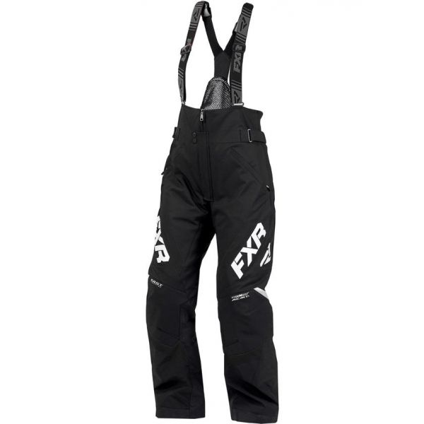 Pantaloni Snow - Dama FXR Pantaloni Snow Dama Insulated Adrenaline Black 2020
