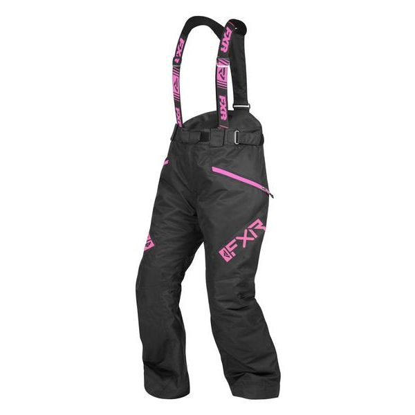 Pantaloni Snow - Dama FXR Pantaloni Snow Dama Insulated Fresh Black/Elec Pink 2021