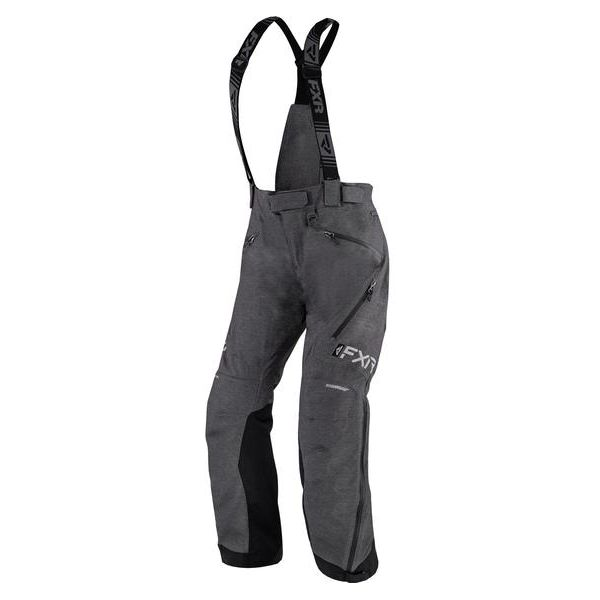Pantaloni Snow - Dama FXR Pantaloni Snow Dama Insulated Renegade FX Charcoal Heather 2021