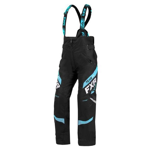 Pantaloni Snow - Dama FXR Pantaloni Snow Dama Insulated Team Black/Sky Blue 2020