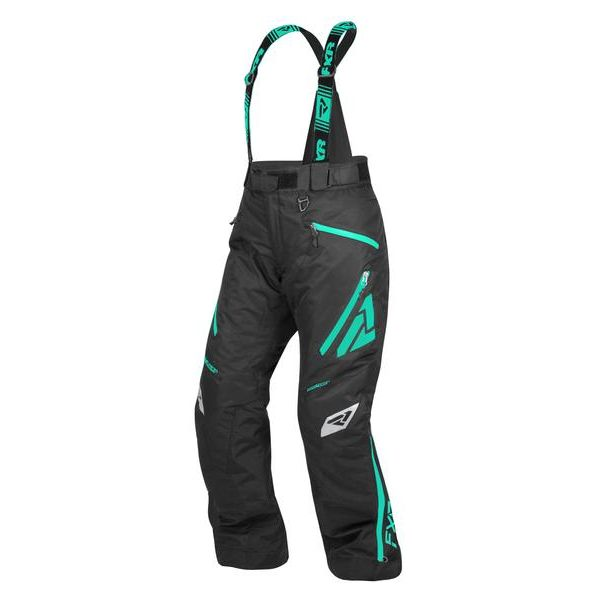 Pantaloni Snow - Dama FXR Pantaloni Snow Dama Insulated Vertical Pro Black/Mint 2021