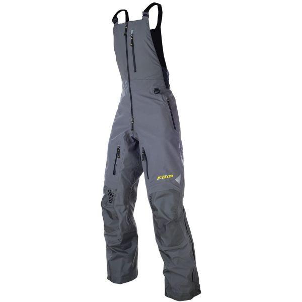 Pantaloni Snow Klim Pantaloni Snow Non-Insulated Bib Togwotee Gray 2020