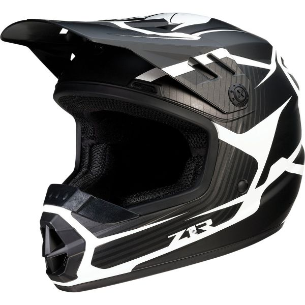 Casti MX-Enduro Copii Z1R Casca Moto MX Copii Rise Flame Black 2022