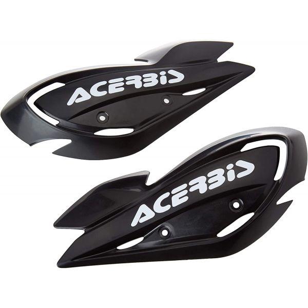 Handguard ATV Acerbis Plastice Schimb Handguard ATV Uniko Vented Negru/Alb