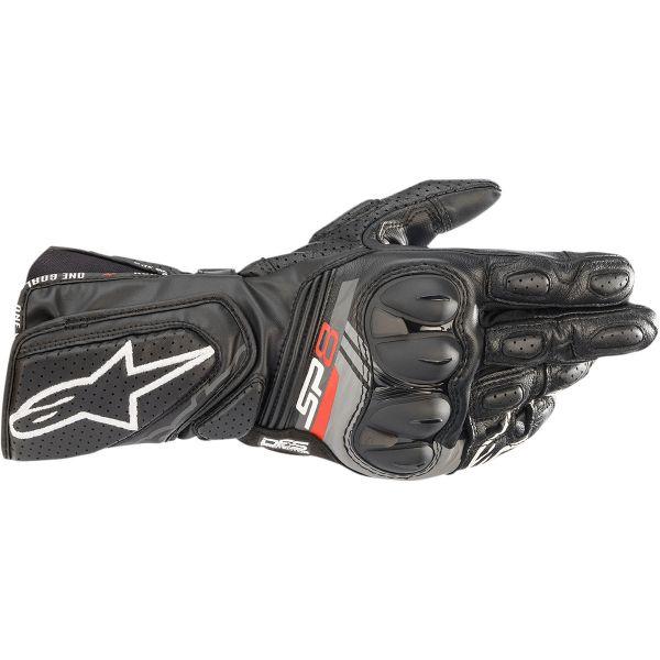 Manusi Moto Sport si Piele Alpinestars Manusi Moto Piele SP-8 V3 Black/Gray 2021