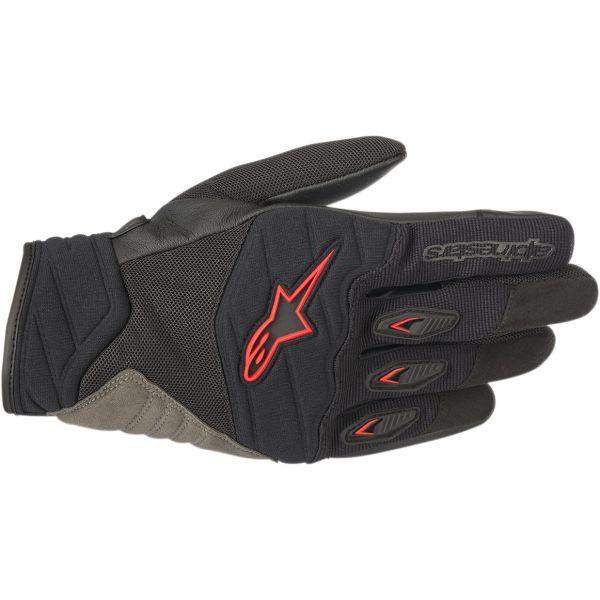 Manusi Moto Sport si Piele Alpinestars Manusi Textile Sport Shore Road Riding Negru / Rosu