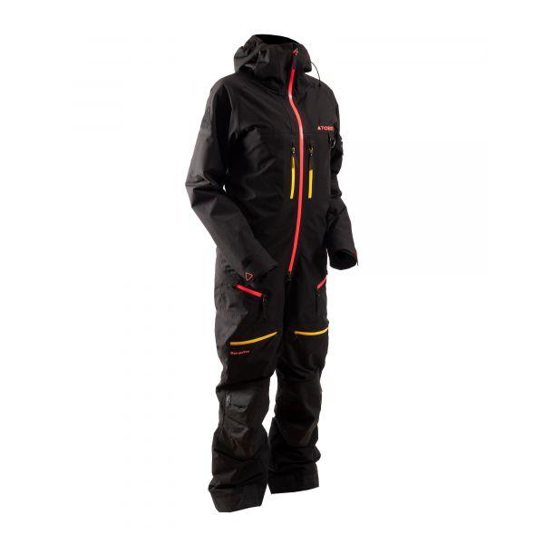 Combinezon Monosuit SNOW Dama Tobe Combinezon Snow Dama Non-Insulated Ekta Jet Black Pink 2022