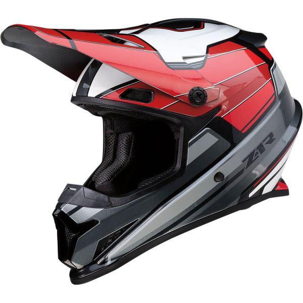 Casti MX-Enduro Z1R Casca Moto MX Rise Mc Red/Black 2022