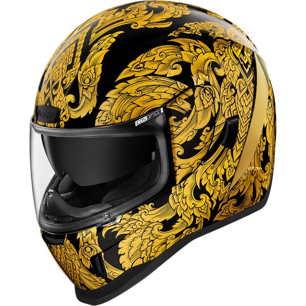 Casti Moto Integrale Icon Casca Moto Full-Face Airform Esthetiqe Gold 2021