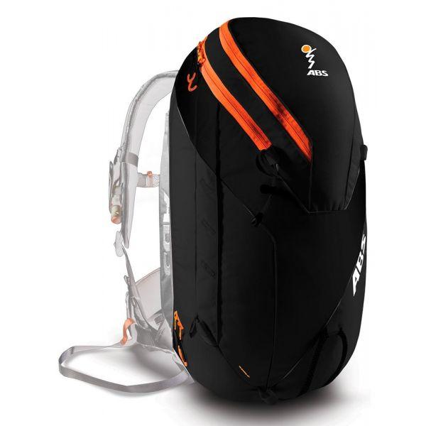 Echipamente Salvare Avalansa ABS LICHIDARE STOC Extensie Rucsac Vario 18 Zip-On Black/Orange