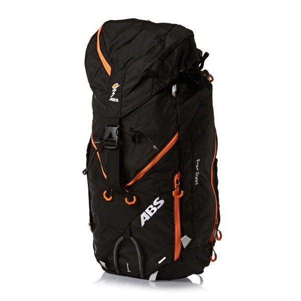 Echipamente Salvare Avalansa ABS LICHIDARE STOC Extensie Rucsac Vario 45+5 Zip-On Black/Orange