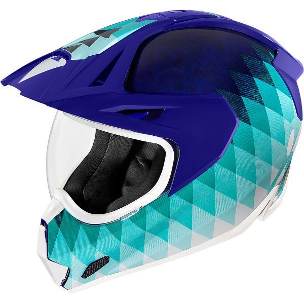 Casti Moto Adventure-Touring Icon Casca Moto Full-Face Variant Pro Hsunshine Blue 2021