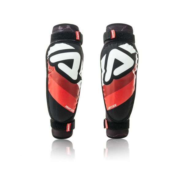 Protectii MX-Enduro Copii Acerbis Cotiere Soft 3.0 Junior Black/Red/White